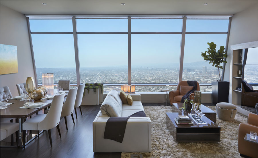 Luxus-Los-Angeles-penthouse