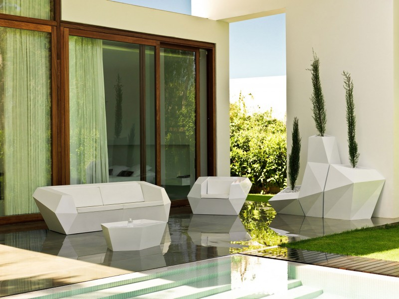 futuristisch-outdoor-Möbel-design