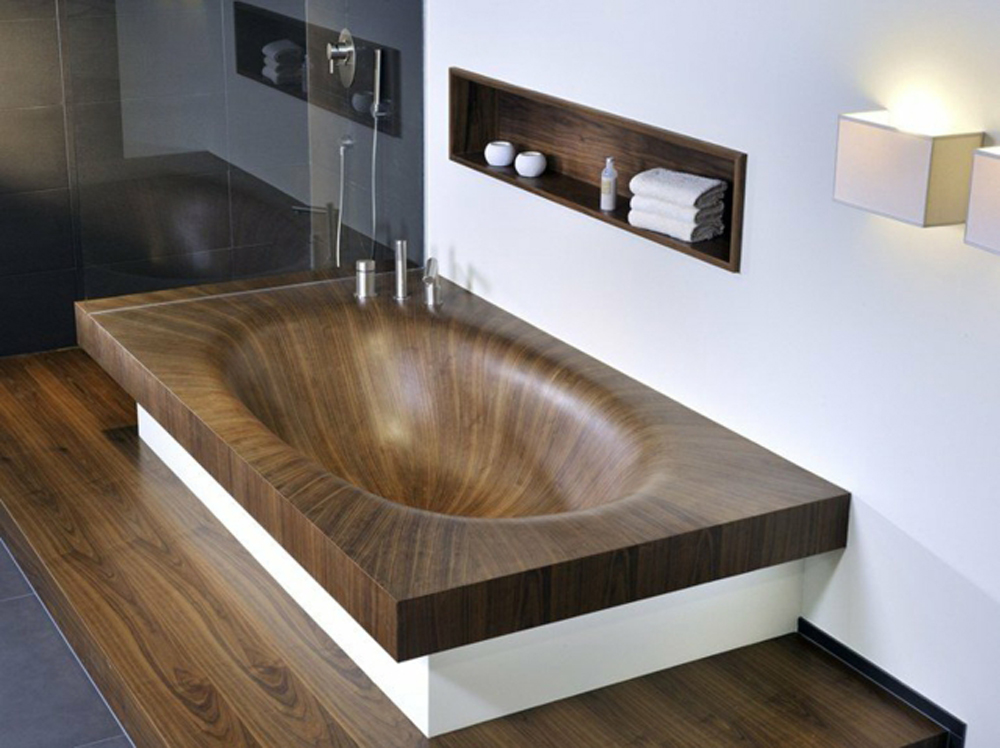 awesome holzbadewanne laguna von alegna aequivalere. Black Bedroom Furniture Sets. Home Design Ideas