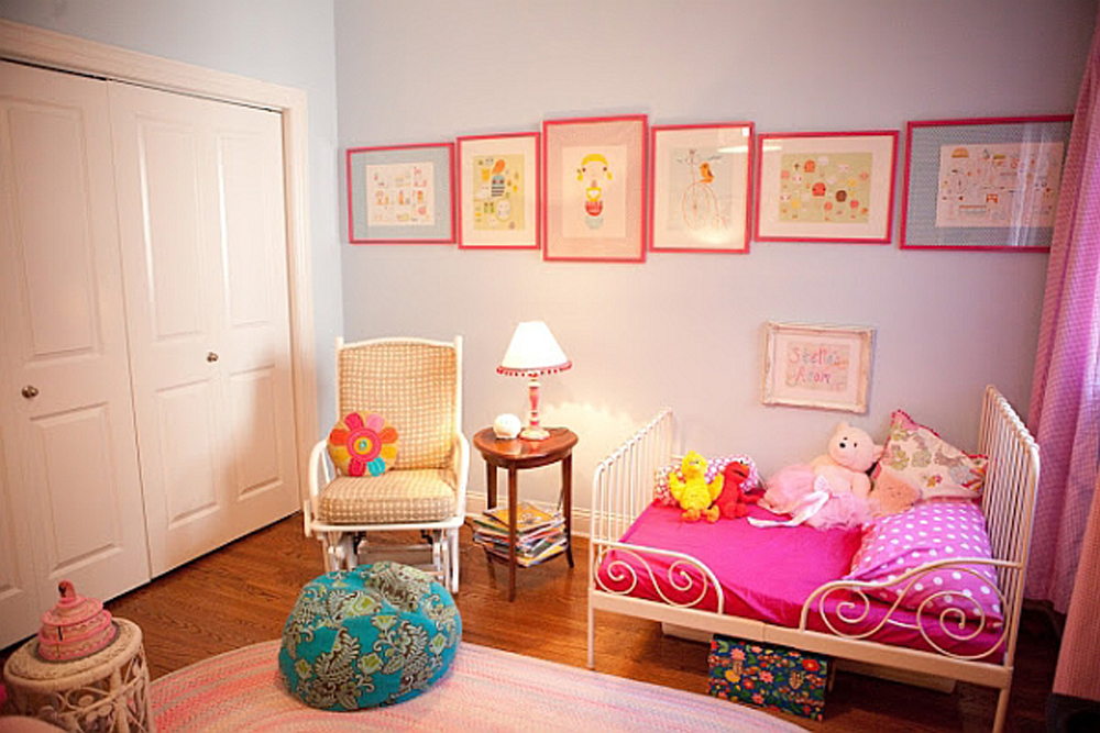 Pin Kinderzimmer Prinzessin In Pink Weiss Picture on Pinterest