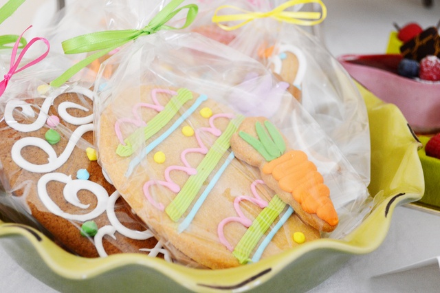 Adorable Cookies auf ein Oster-Party