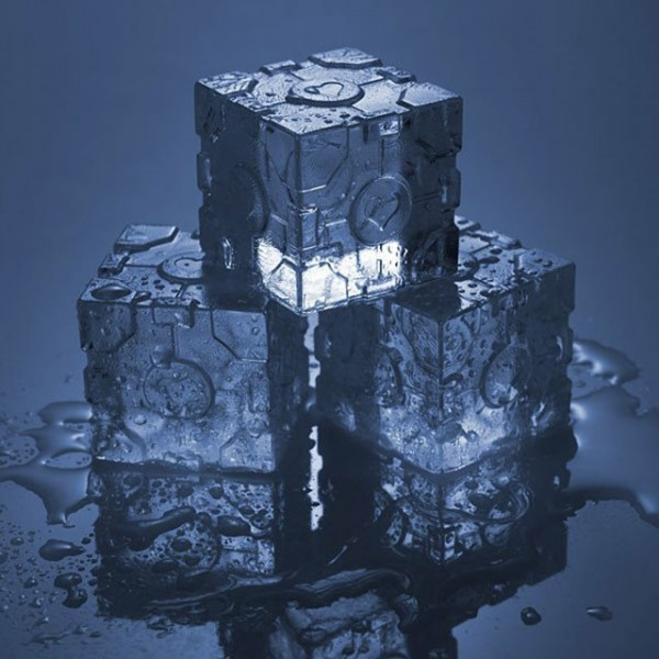 Companion Cube Ice Tray-Kuchen-Design-ideen