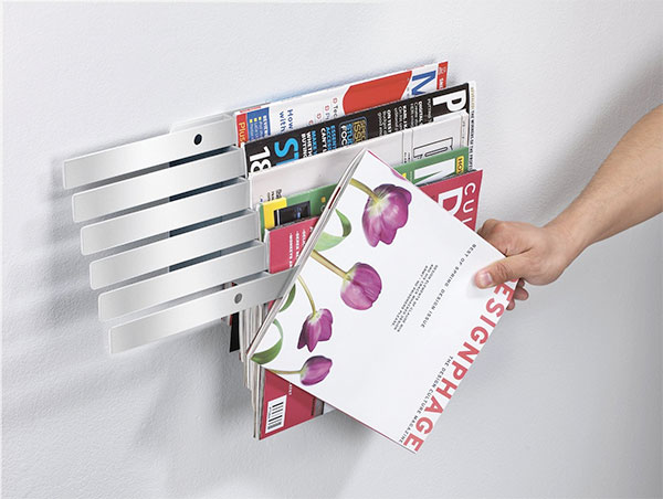 Illuzine Wall-Mount Magazine Rack-Deko-ideen