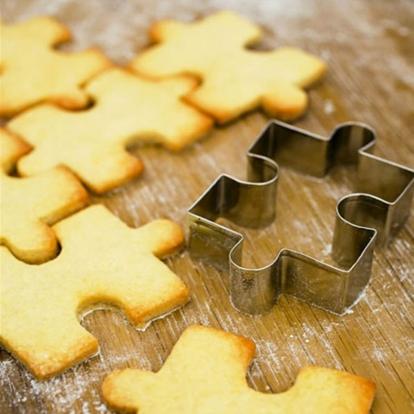 Jigsaw Cookie Cutter - Küche-Design-Ideen