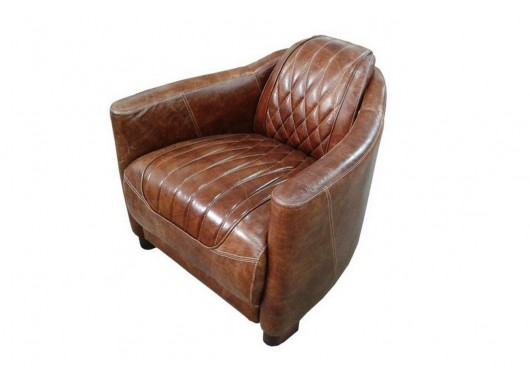 Marco-Polo-Sessel-Chesterfield-Look-braun