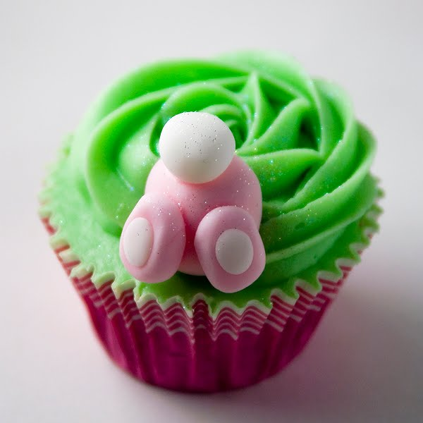 Ostern Bunny Cupcakes Cupcakes-und-cookies