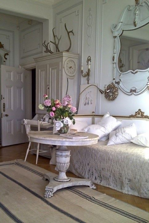 shabby chic wohnzimmer deko 8 aequivalere. Black Bedroom Furniture Sets. Home Design Ideas
