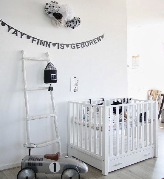 babyzimmer eclectic ideen