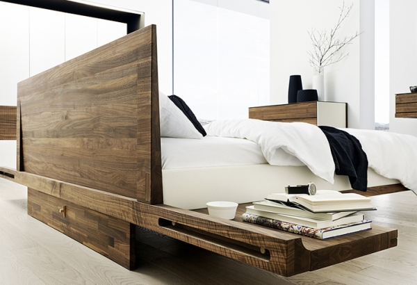 ab ans bett mit der aufbewahrung aequivalere. Black Bedroom Furniture Sets. Home Design Ideas