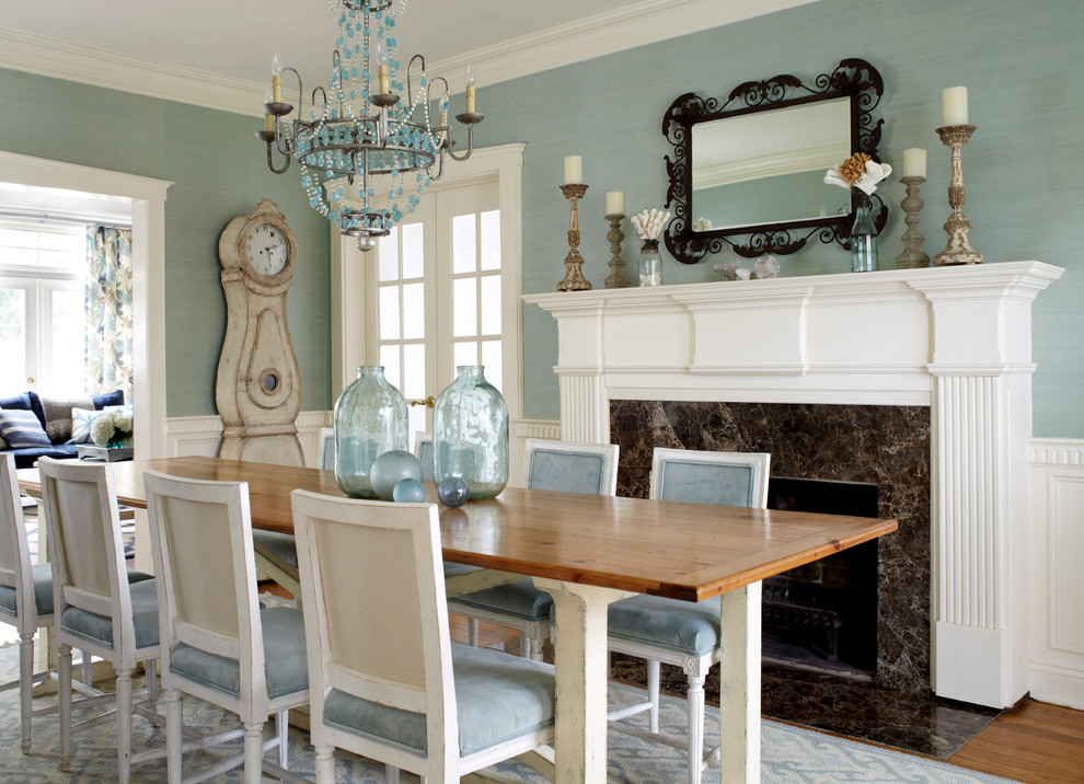 Esszimmer vintage shabby chic aequivalere Dining room color ideas for a small dining room