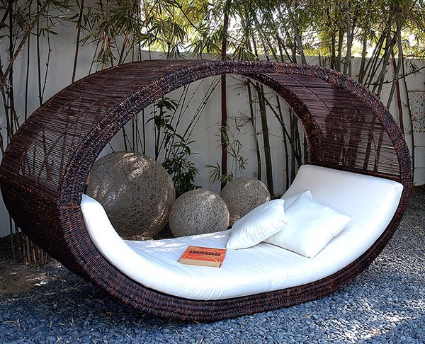 Outdoor-Lounge-Sonnenliege-Basis