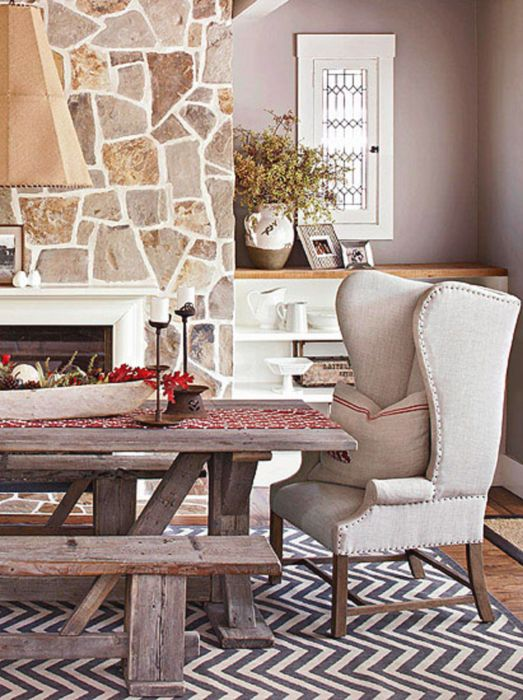 Romantic Country Style Dining Area