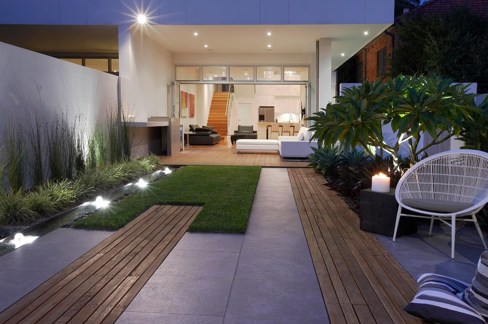 Modern House Beautiful Terrace And Landscape Modernes Gartendesign Sch Ner Garten Aequivalere