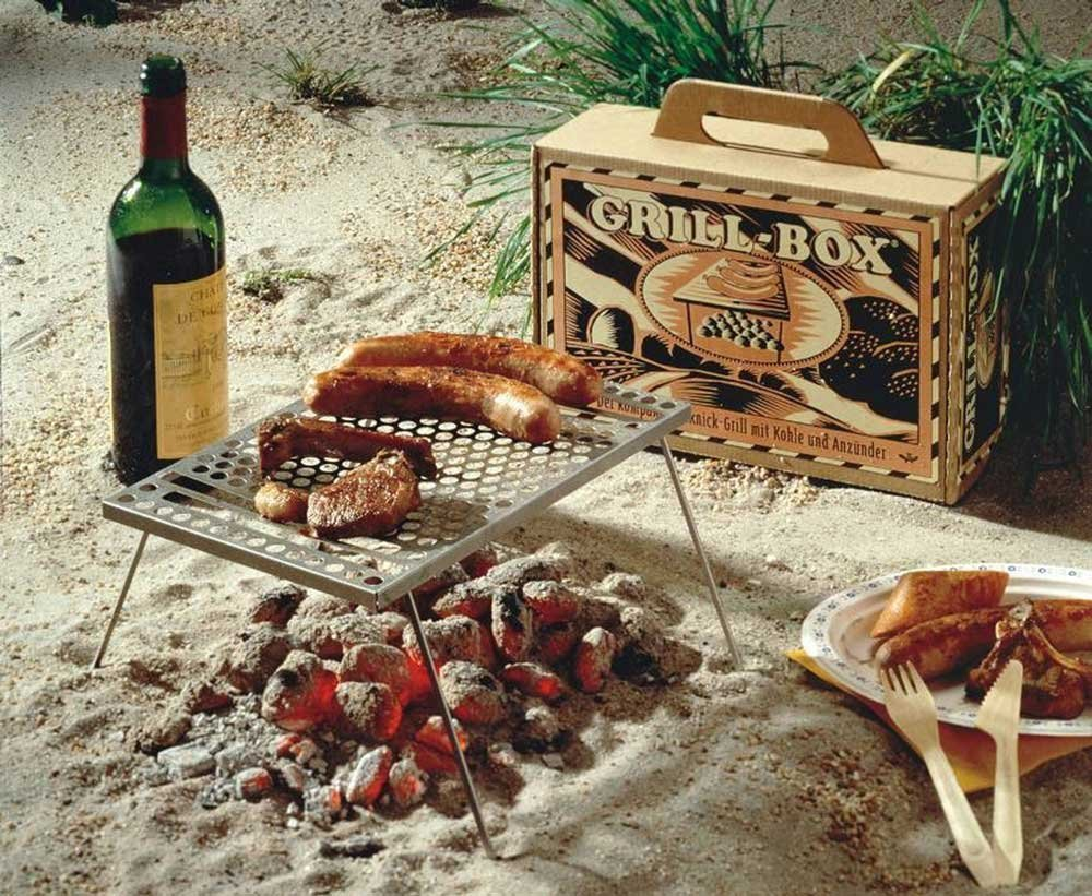 Picknickgrill Grill Box