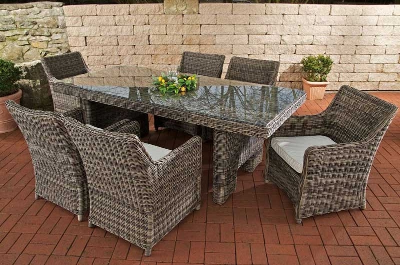 Poly Rattan, Grau Meliert Awesome Design