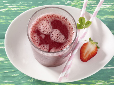 Beeren Mix-Mixer Smoothies