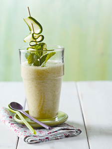 -Green Morning- Smoothie-Mixer Smoothies