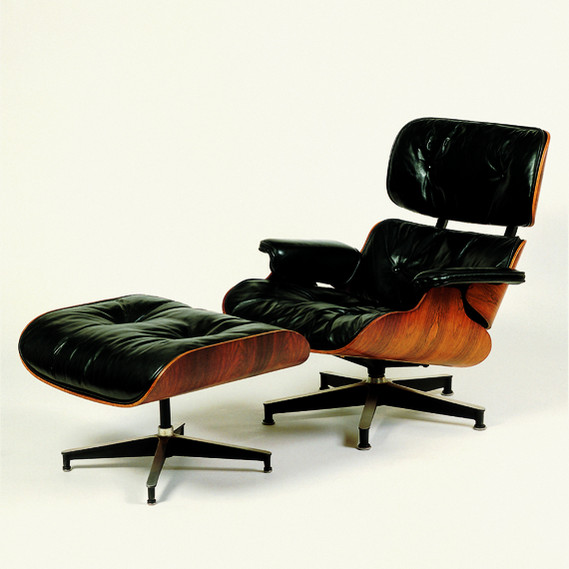 Lounge-Chair-Eames-Design Stuhl