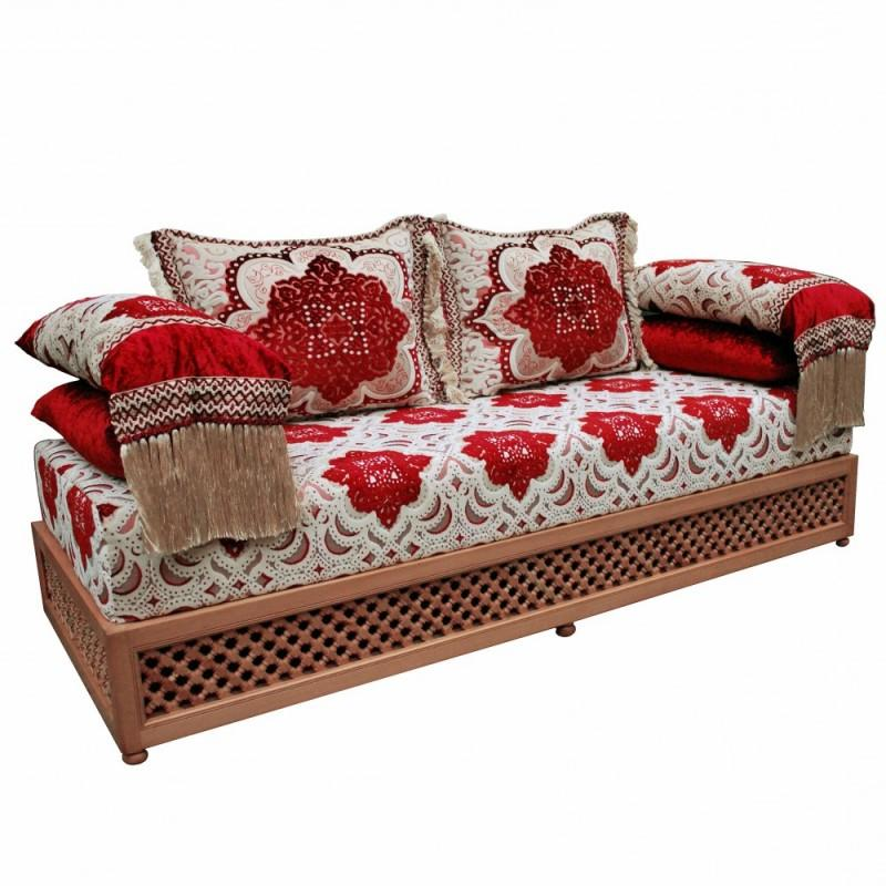 orientalische sofa orient m bel aequivalere. Black Bedroom Furniture Sets. Home Design Ideas