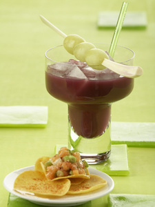Trauben-Kokos-Cocktail-Mixer Smoothies