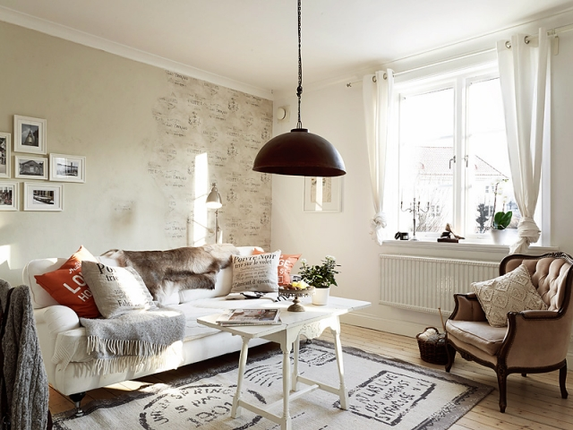 wohnzimmer retro look:Shabby Chic Living Room Decorating