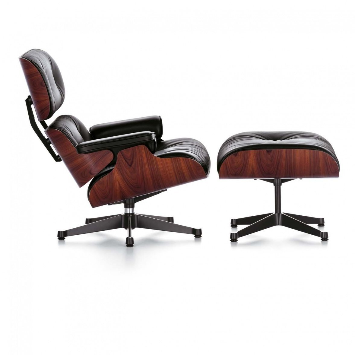 vitra eames lounge sessel leder aequivalere. Black Bedroom Furniture Sets. Home Design Ideas