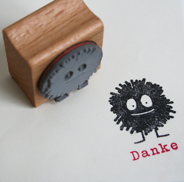 Bommel Monster Stempel
