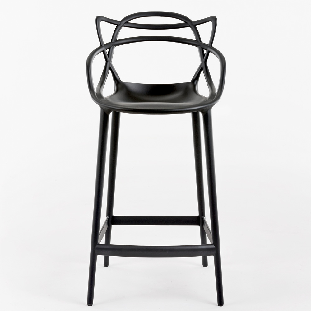 Masters Stool Barhocker in Schwarz-bar hocker