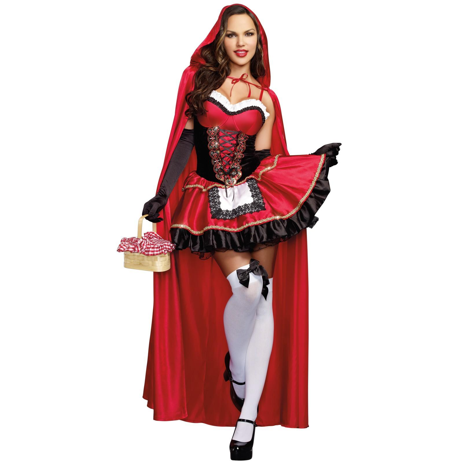 Halloween-Party Kostüme rot schwarz-kostüme für halloween party
